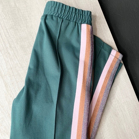 Spiritual Gangster Pants - NWT Spiritual Gangster Striped Classic Track Pant